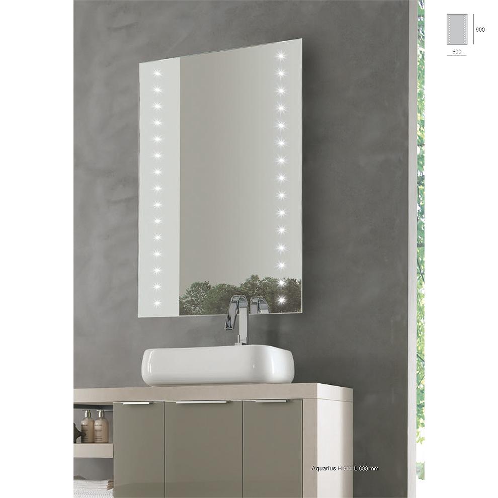 Specchiera LED modello ACQUARIUS
