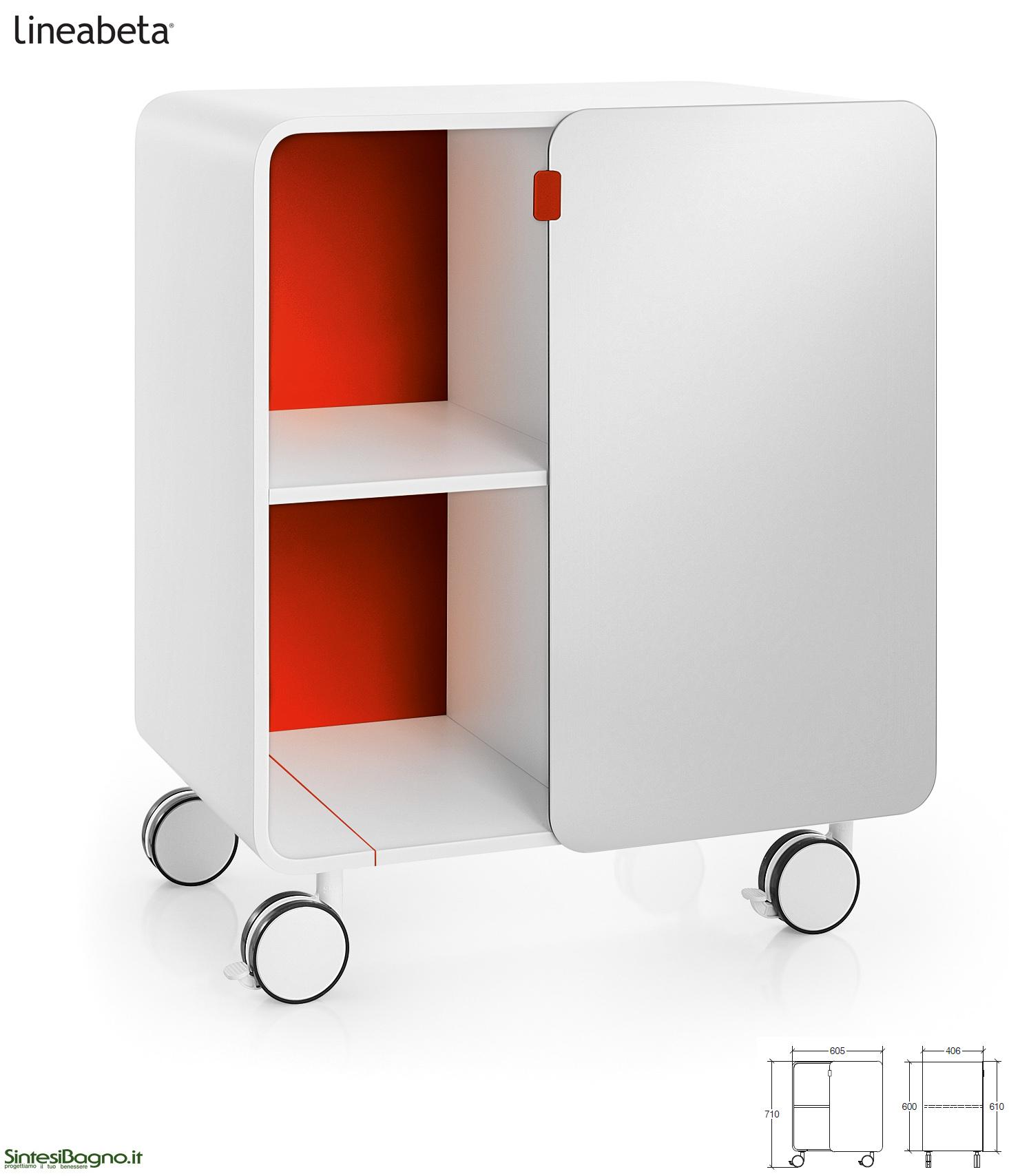 Mobili contenitori bej da lineabeta sintesibagnoblog for Mobili contenitori design