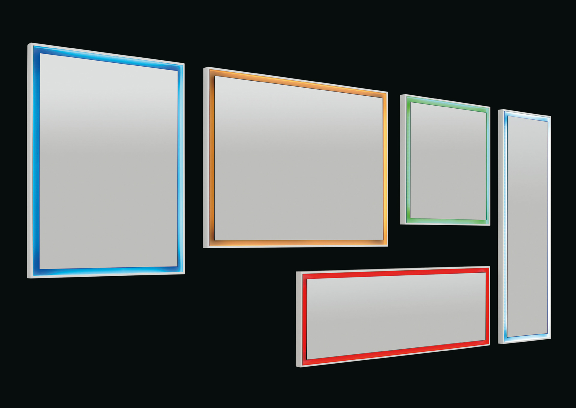 Novità specchiere bagno LED di Vanita&Casa