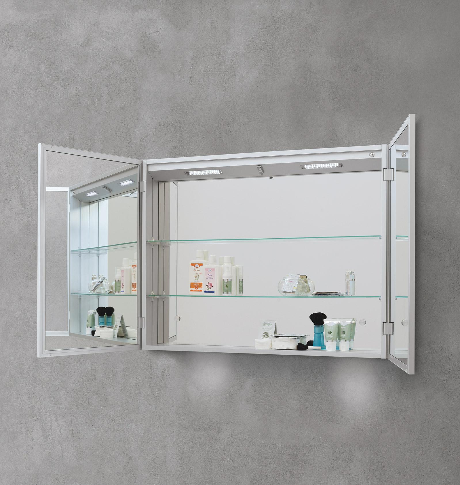 Specchiere bagno contenitore sintesibagnoblog - Specchio in bagno ...