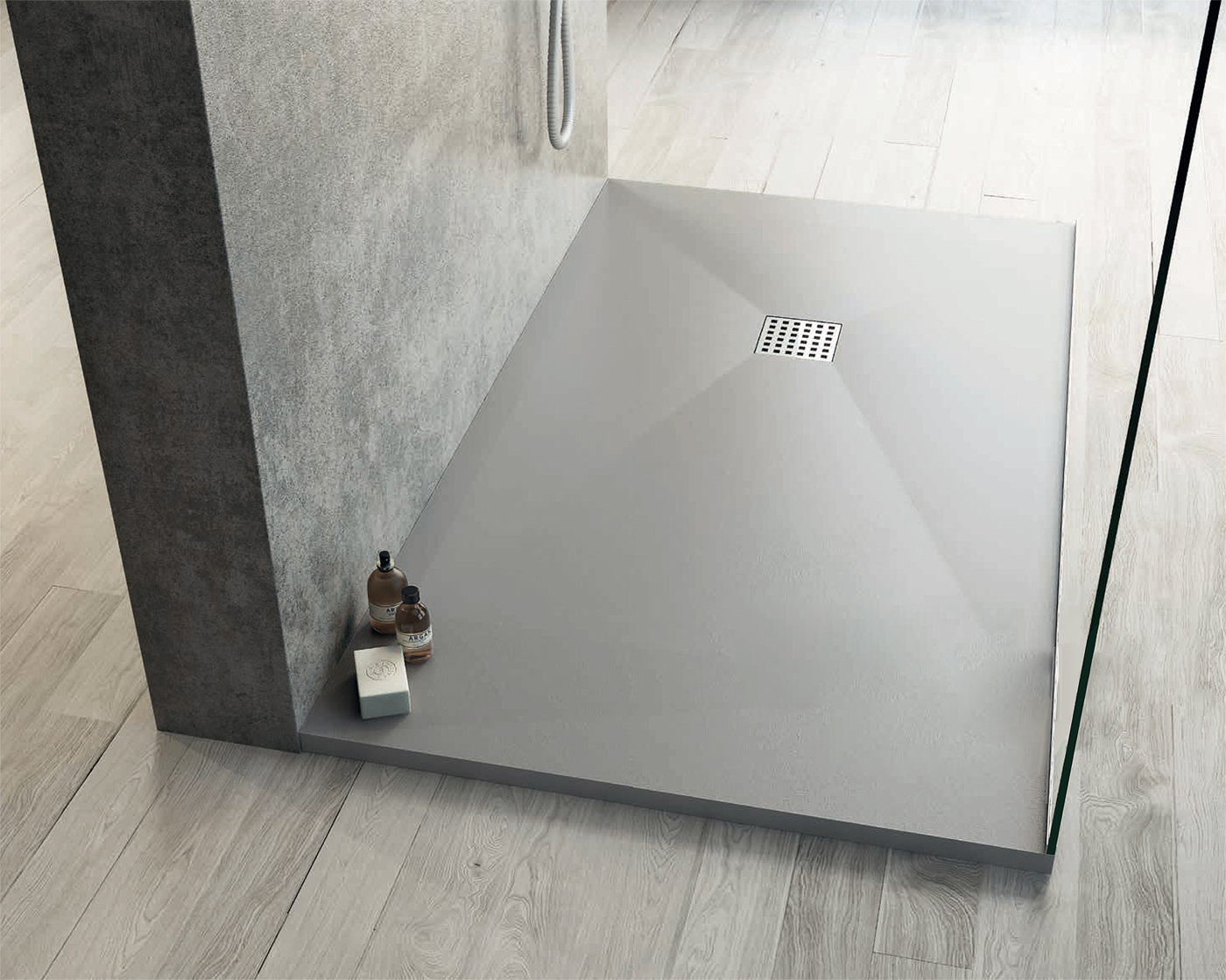 SOLISTONE l'innovativo piatto doccia con effetto pietra!