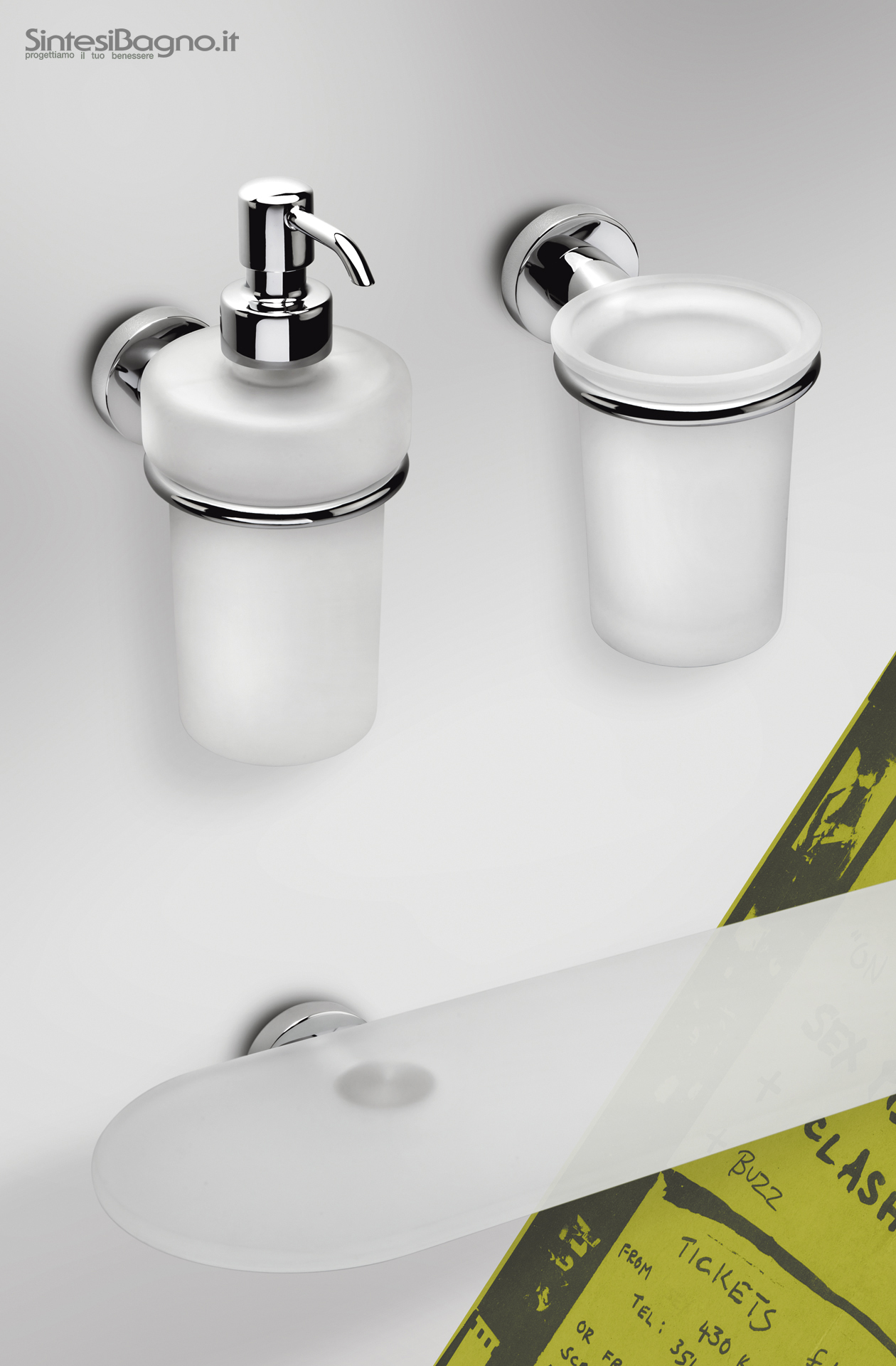 ACCESSORI BAGNO economici - COLOMBO Design serie BASIC - Shop online ...