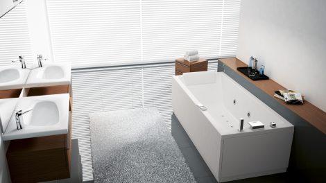 Vasca da bagno NOVELLINI modello CALOS idromassaggio PLUS