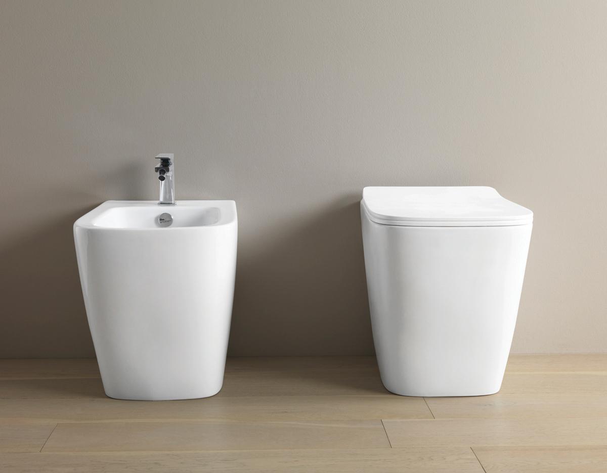 A16, la nuova serie di sanitari The.Artceram, design Meneghello Paolelli Associati