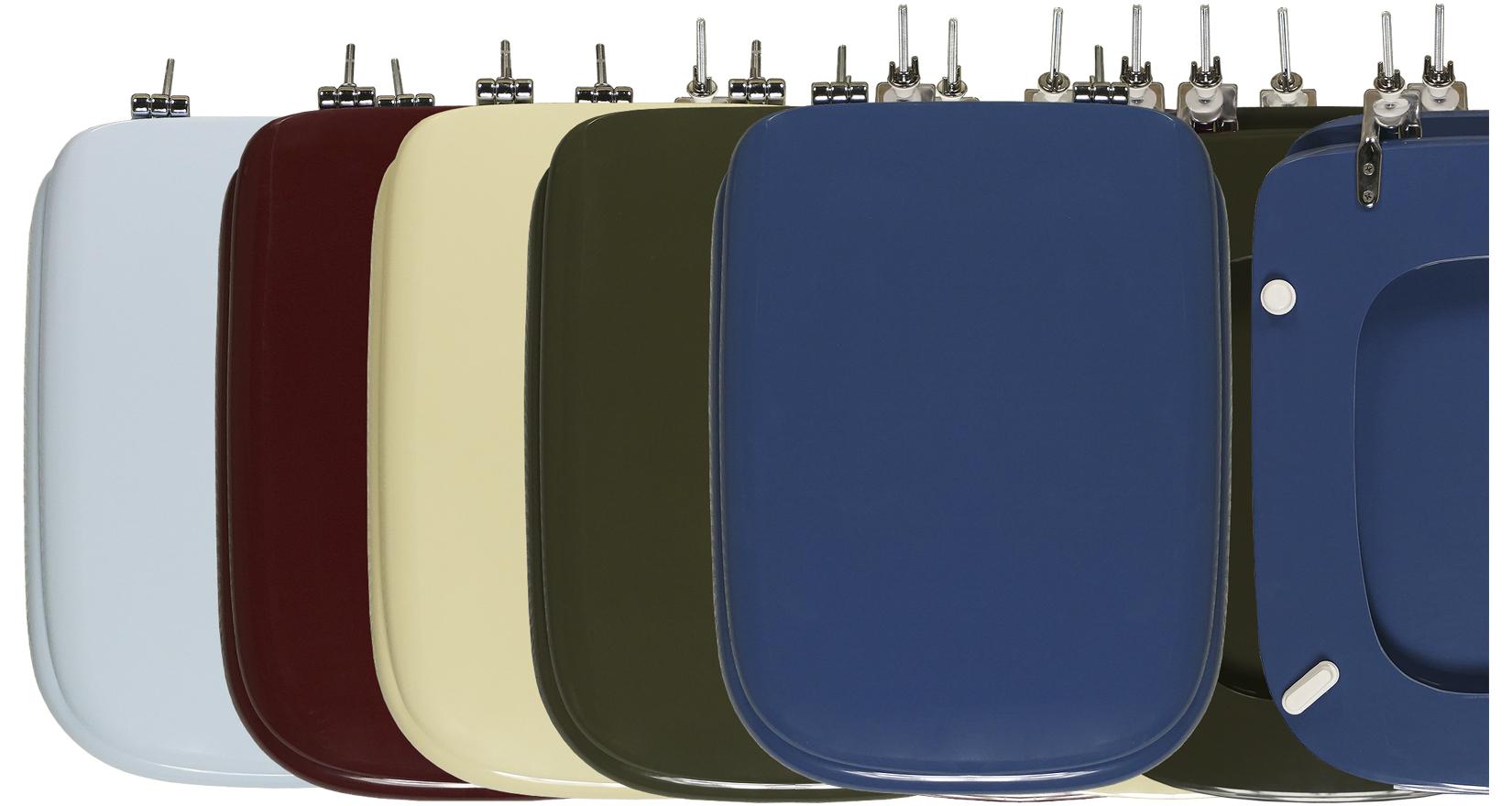 I copriwater conca colorati sintesibagnoblog for Modelli water ideal standard