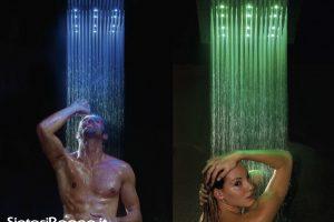 Soffioni Doccia con CROMOTERAPIA Bossini serie DREAM RGB