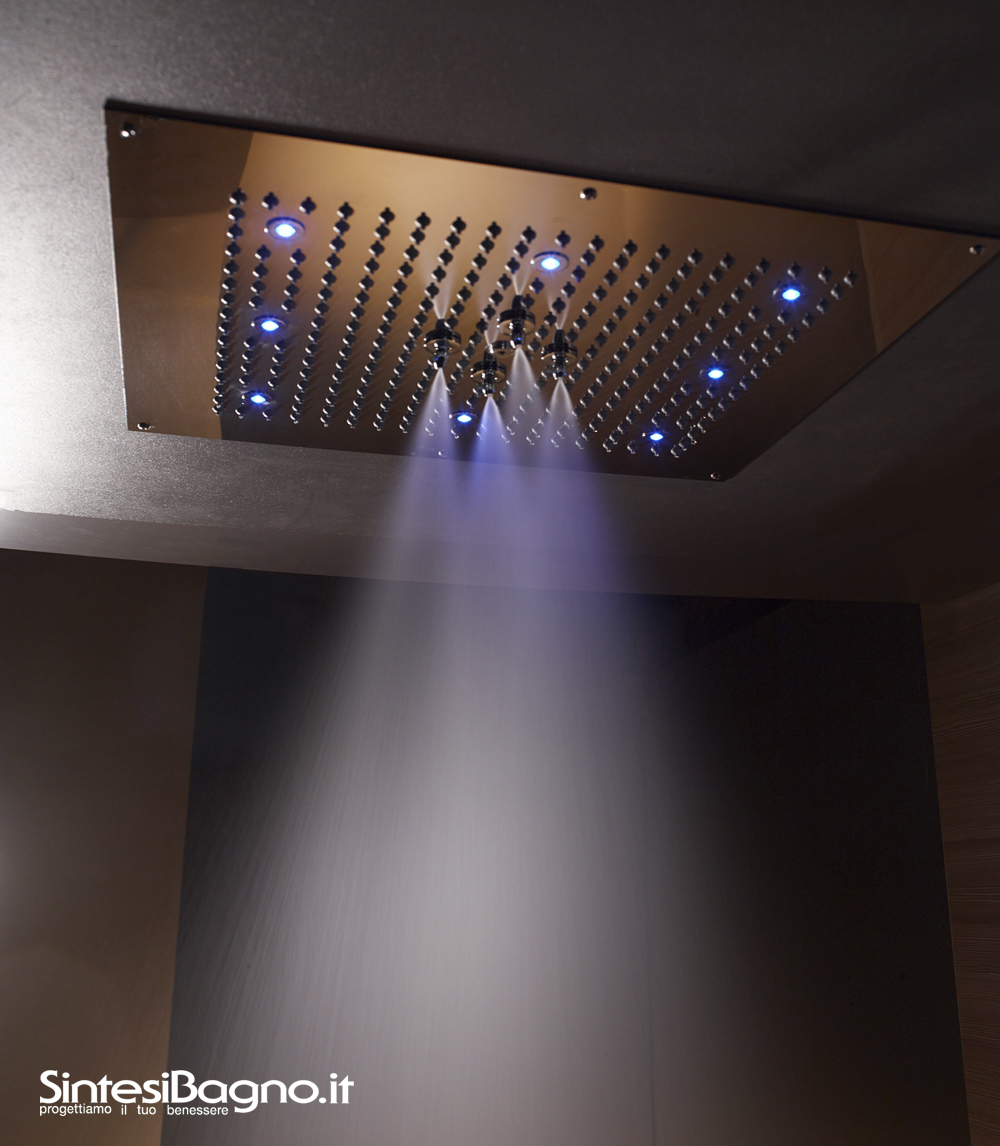 Soffione Doccia Bossini Dream Flat - 2 sprays