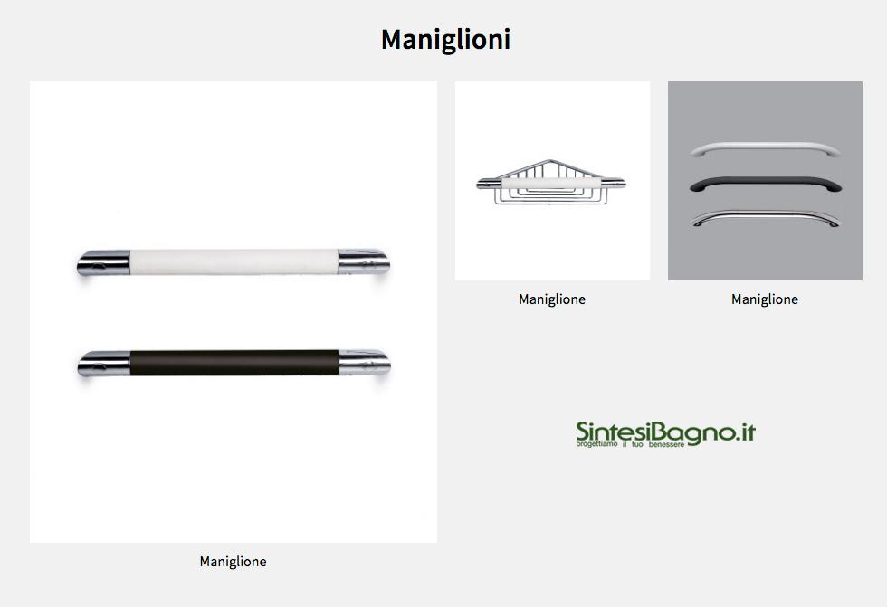 Accessori complementi bagno Novellini: Maniglioni