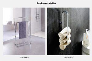 Accessori complementi bagno Novellini: Portasalviette