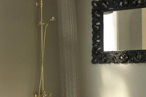 Bossini Retrò la colonna doccia per un bagno stile Bella Epoque