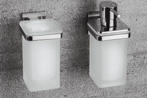 La nuova serie di accessori bagno di Colombo Design BasicQ