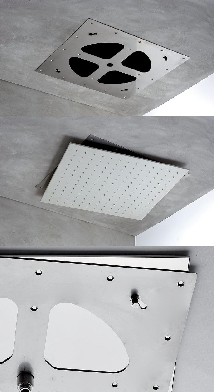 Soffioni Doccia da soffitto/controsoffitto con montaggio facilitato