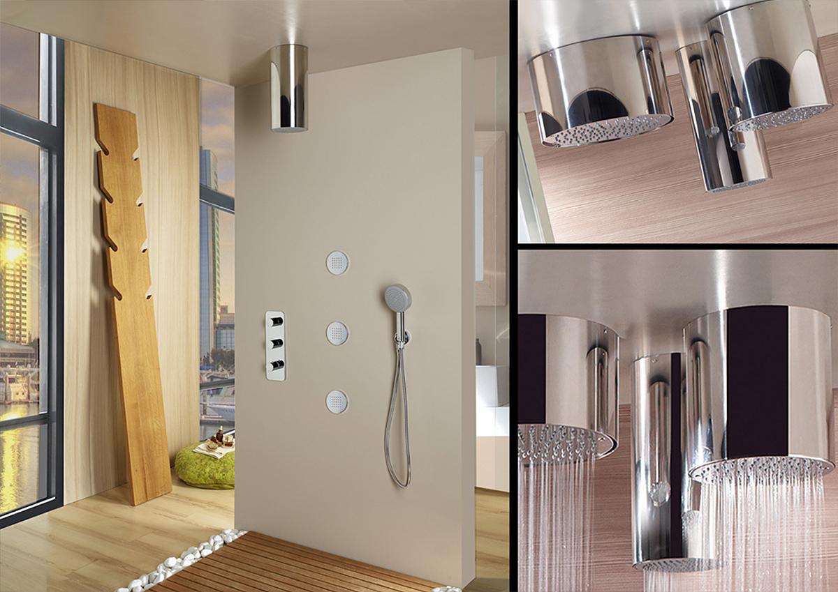 Bossini HOME WELLNESS Miscelatori termostatici alta portata Bossini