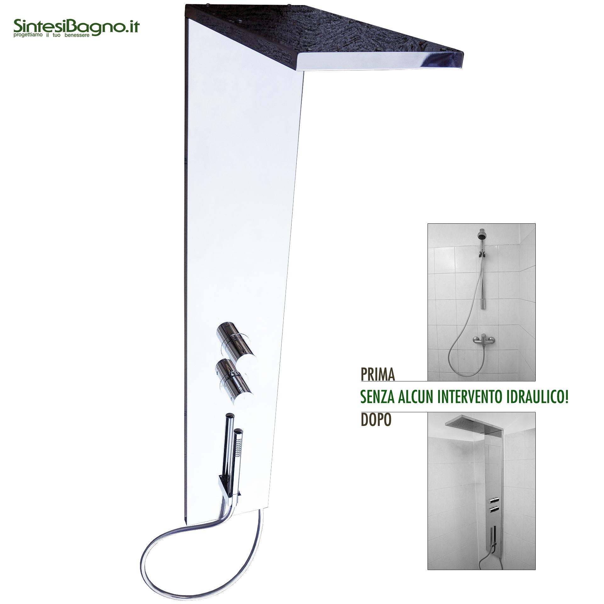 Come sostituire doccia senza intervento idraulico e di muratura
