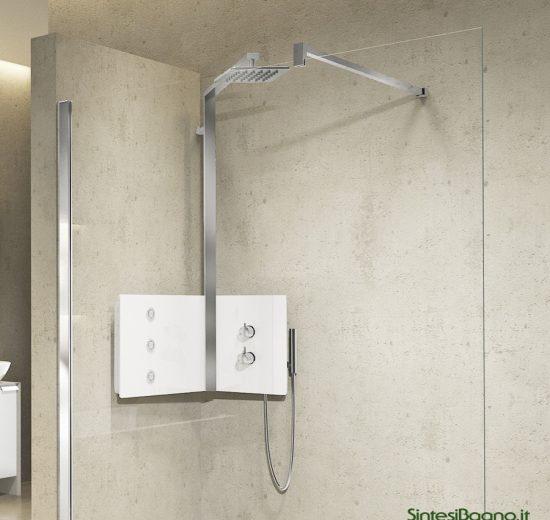 Colonna doccia installabile ad ANGOLO modello SINT