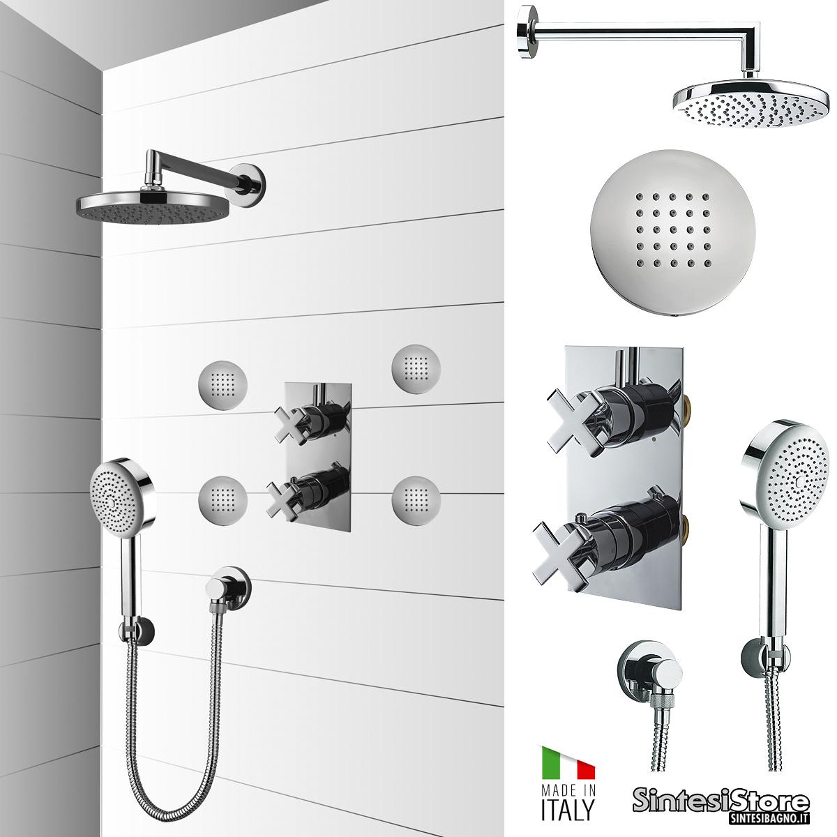 """Composizioni / SET doccia BOSSINI """"Shower Concept"""" per la doccia completa!"""