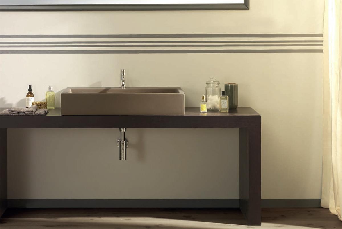 Ceramica Glogo. Lavabo da appoggio. Sit-on basin. 80.50. CLASSIC