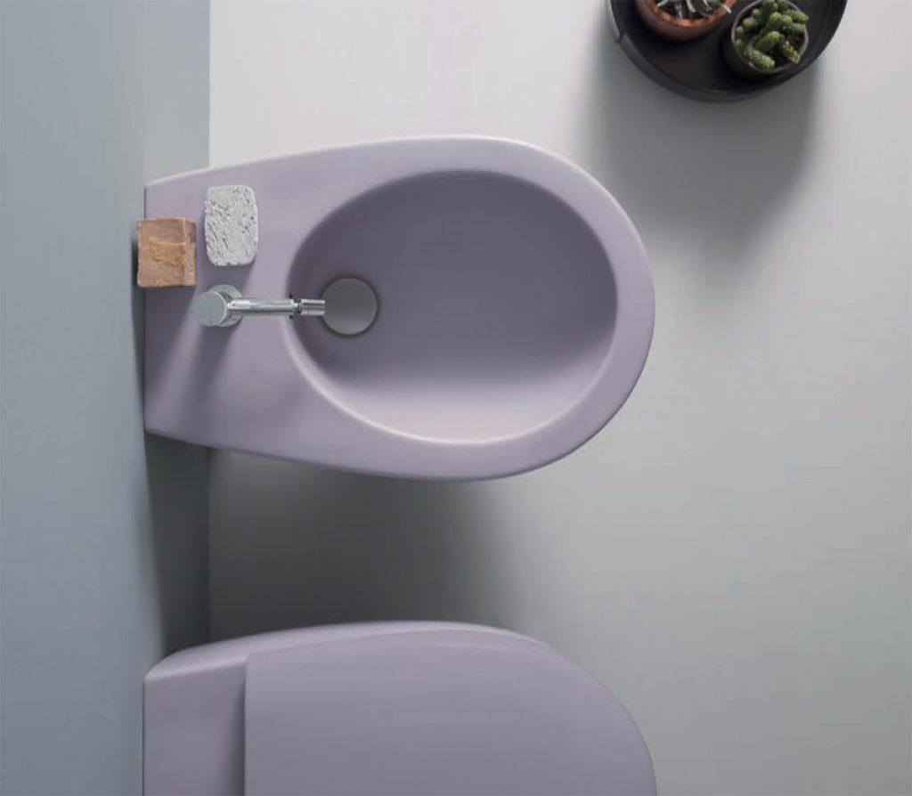 """Il bagno """"colorato"""" di Ceramica Globo"""