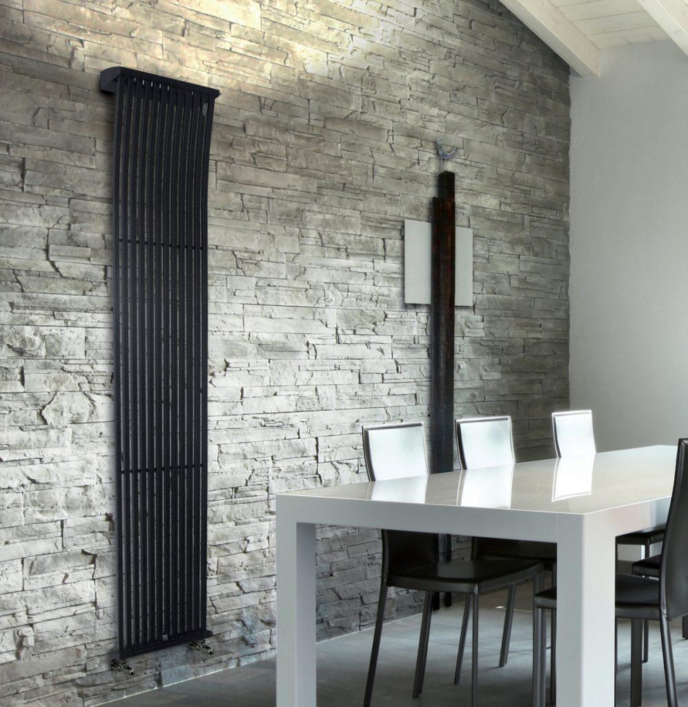 KUADRUM UP L'inserimento di una lampada nella parte alta del calorifero permette di abbinare la funzione illuminante a quella calorica, determinando il confort e l'atmosfera di ogni ambiente.