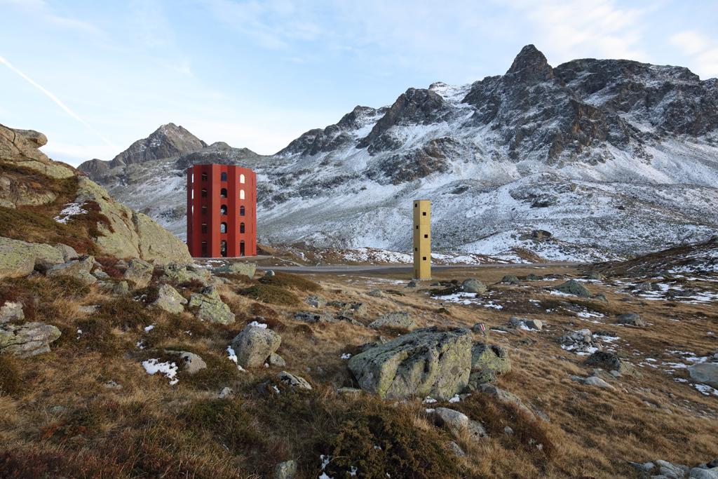 La Julier Tower in Svizzera